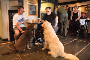 The Dog and Gun Pub, Keswick, England © Forest McMullin