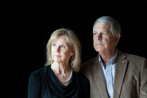 Portrait of Carl and Marsha Mueller