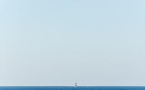 Landscape, Scoglio Porcelli, Sicily, 2014 © Luca Lupi