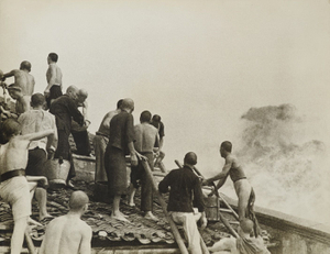 After a Japanese Air Raid, Hankou, China, 1938 © Robert Capa, Museum Folkwang Collection