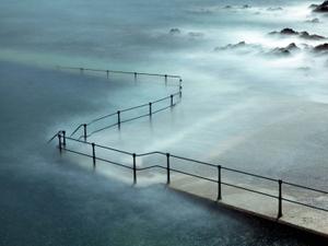 Tidal pool, La Valette, Havelet Bay, Guernsey