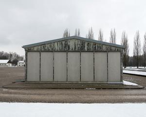 Prisoners' Barracks, Dachau Memorial and Museum, 2016