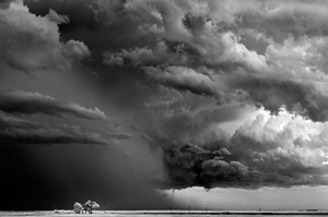 Trees-Clouds, Texline, Texas, 2009, © Mitch Dobrowner