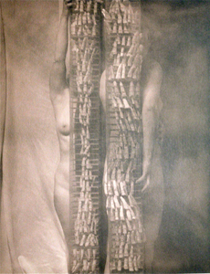 Anne, Jeannie and the Finger Sculpture© Eric Blau