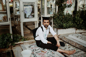 Saeed (47) is a chemical veteran of the war. He experienced two attacks of chemical bombs in different areas. Every week he goes to the graveyard of martyrs and washs the graves of all his martyred friends and spends time by them