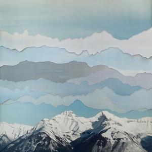 "Banff Sky, from the series ""Broken Horizons"" © Becky Comber"