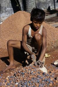 © 2014, Stephen Shames — Bangladesh. Rock quarry.