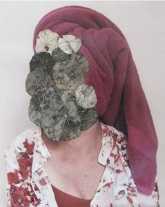 Untitled (with nasturtiums)