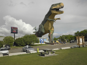 * World's Largest Dinosaur/Drumheller, Alberta/June 2011