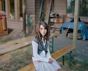 Emily on her 15th Birthday, Mt. Vernon, WA, 2005