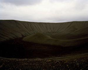 Hverfjall Crater, Myvatn, Iceland.