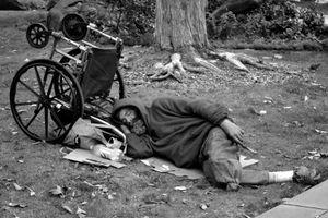 Homeless Man, San Francisco