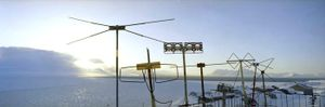 Barentsburg :  Antenna