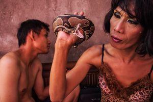 Kirana and her snake