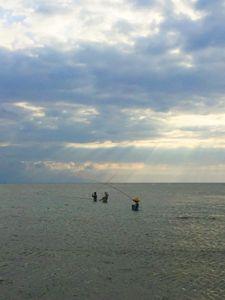 Pêcheurs du soir