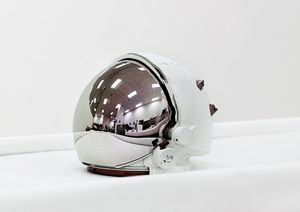 Space Helmet, Extravehicular Visor Assembly, John F. Kennedy Space Center [NASA], Florida, USA, 2011 © Vincent Fournier