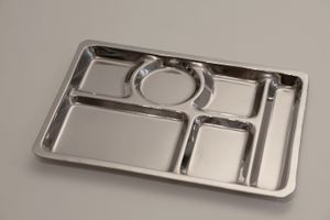 Prison Food Tray acquired from Ebay.   © Amy Elkins
