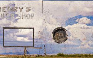 Henry's Barbershop, Fort Stockton, TX © Karen Strom