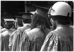 Graduation, Columbia University, 1970