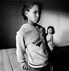 "Latasha and Skye. Idaho Falls, ID. From the series ""Childhood Reveries""  © Brian Shumway"