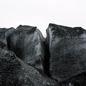 Gletscherspalte.