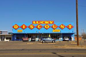"""""""Lucky Discount"""", Amarillo, Texas, 2008"""