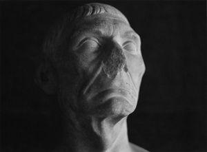 Blind Justice: detail (Roman bust, Glyptotek, Copenhagen)