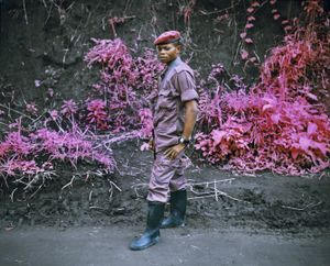 General Fevrier, Eastern Congo, 2010 © Richard Mosse. Courtesy of the artist and Jack Shainman Gallery.