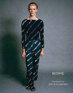 "Cover of ""Bowie: Photographs by Steve Shapiro""."