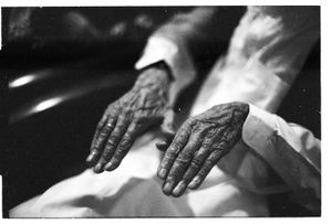 Hand of a great uncle