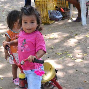 Girl Near Zihuatanejo, Mexico