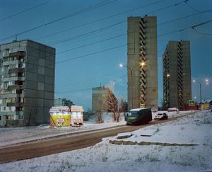 The street Alexey lives on  (Russia, Tolyatty, 2016)