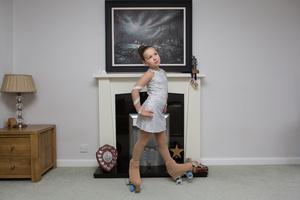 Megan, Artistic Roller Skater, 2016