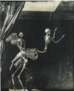 Cupid and Centaur in the museum of love. From a Witkin retrospective. Courtesy of Photolux Festival
