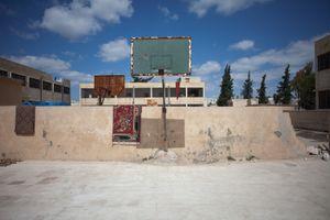 © Maciej Moskwa/TESTIGO.pl March 2013, Playground in Maarrat Horma, Hama province.