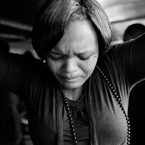 Woman at the Fullness of Christ Church. Langa.