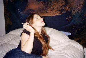 Livia smoking