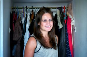 Donatella M_by her closet