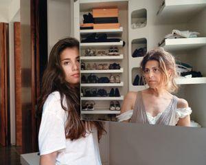 Lina and Sarah, Beirut Lebanon, 2014
