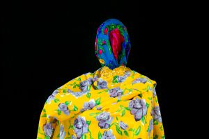 """Yellow Floral, from the Series """"Cast No Evil"""""""