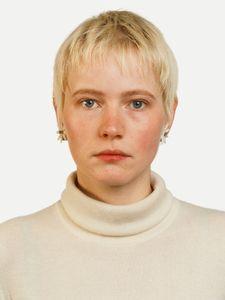 Portrait Andrea Kachold, 1987, Chromogenic Print
