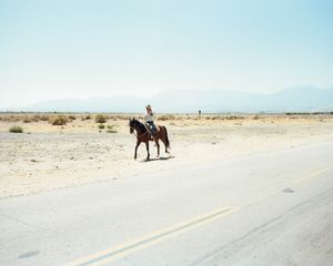 East Avenue S, near Littlerock, CA, from the series Mojave © Markus Altmann