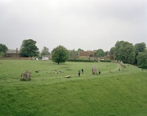 Amerta Movement Workshop, Avebury Henge, Wiltshire, 2 June 2008 © Simon Roberts