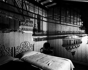 Camera Obscura Image of the Pantheon in the Hotel Des Grands Hommes, 1999 © Abelardo Morell