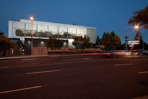 Tell him it is all a transition (installation Creative Industries Billboard Brisbane 2012)