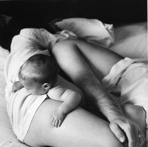 Sleeping Series, silver print, © Joanne Leonard