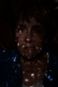 Grandma and her Blue Eyes Lit by Constellations, 2015