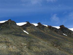 Moutains around Longyearbyen