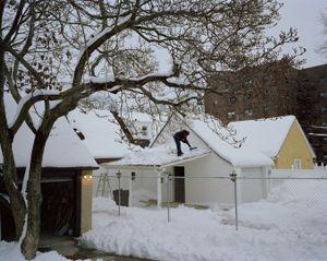 Snow Storm, Briarwood, NY.