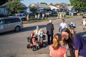 Louisville, Kentucky. 2015. Kentucky Derby aftermath.